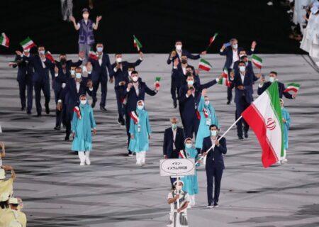 رژهی ستارگان ایران زمین در المپیک توکیو ۲۰۲۰