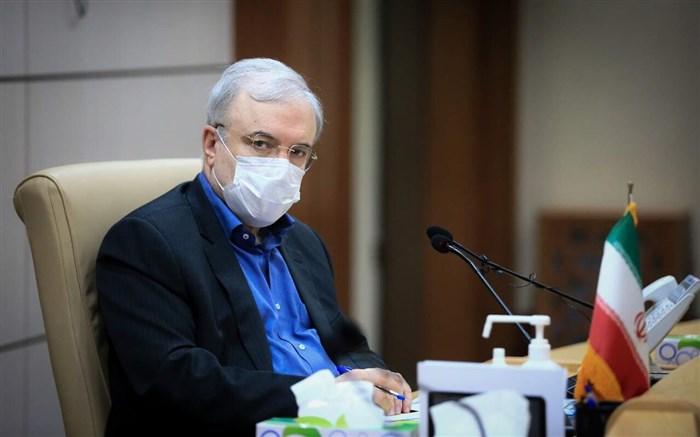 وزیر بهداشت: در سربالایی پیک پنجم کرونا قرار داریم