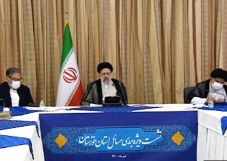 رییسی: برای حل مشکلات خوزستان حتی یک روز هم معطل نخواهیم کرد