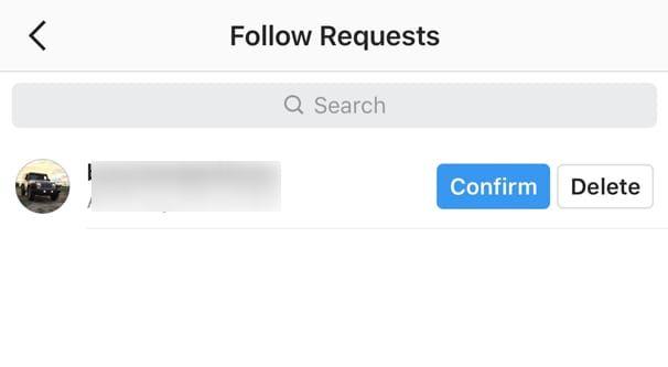 اگر در اینستاگرام درخواست فالو را رد کنیم پیغام دریافت می کنند؟