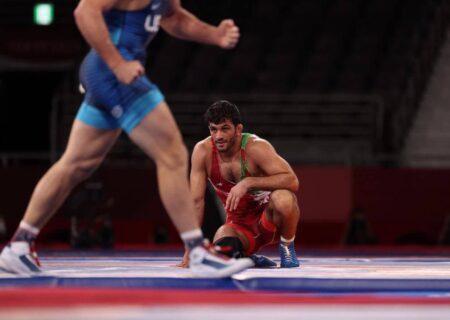 باخت حسن یزدانی به تیلور آمریکایی و کسب مقام نایب قهرمانی