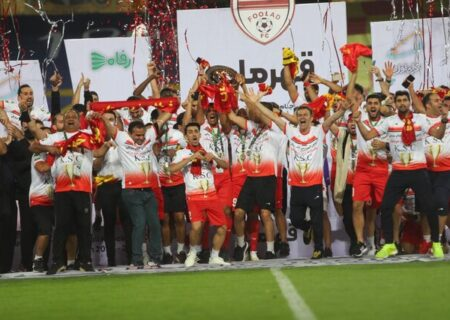 باخت استقلال در فینال جام حذفی مقابل فولاد خوزستان و عصبانیت مجیدی