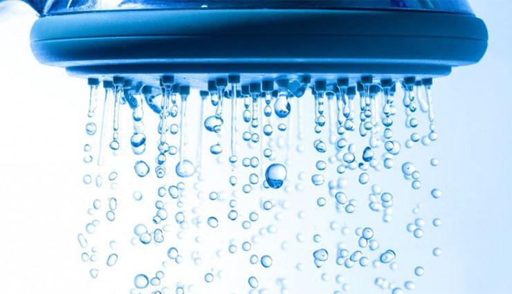 فواید دوش گرفتن با آب سرد
