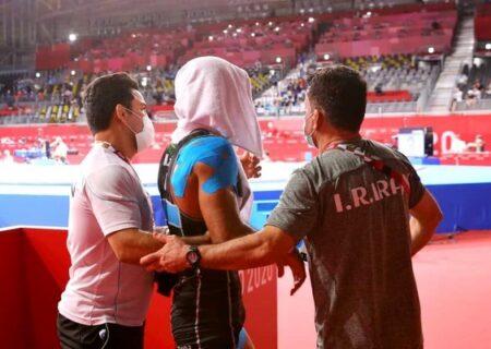 اشک های محمد علی گرایی پس از ناکامی در صعود به فینال کشتی فرنگی