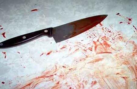 ضربات چاقوی زن بی رحم به شوهرش در خواب